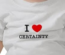 love certainty
